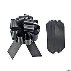 Black Wedding Pull Bows