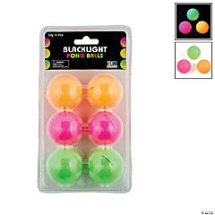 Blacklight Table Tennis Balls