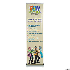 "Blade Lite 24"" Retractable Banner Stand"
