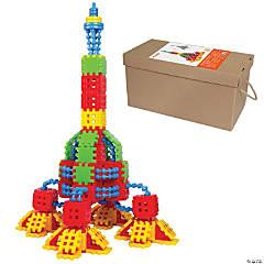 Blast-Off Rocket Waffle Blocks Set 270-Piece
