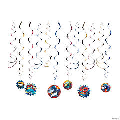 Blaze and the Monster Machines™ Hanging Swirl Decorations - 12 Pc.