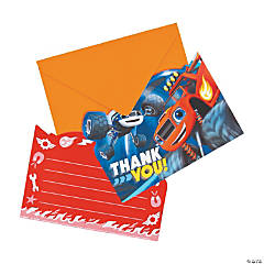 Blaze and the Monster Machines™ Thank You Cards