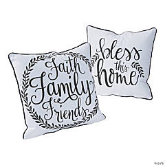Bless This Home Pillow Set