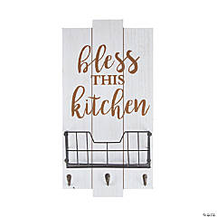 Bless This Kitchen Wall Plaque