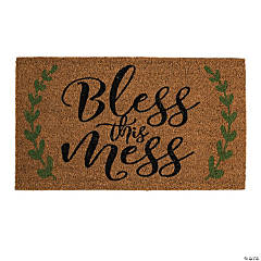 Bless This Mess Coir Mat