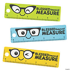 Blessed Beyond Measure Rulers