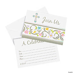 Blessed Day Invitation & Thank You Cards