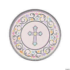 Blessed Day Paper Dinner Plates - 18 Ct.