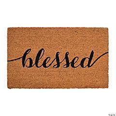 Blessed Door Mat