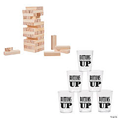 Block Tower Drinking Game Kit