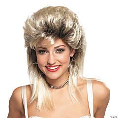 Blonde Rocker Groupie 1980's Wig