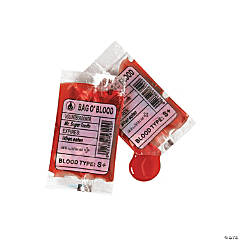 Blood Bag Candy
