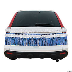 Blue & White Car Parade Decorating Kit