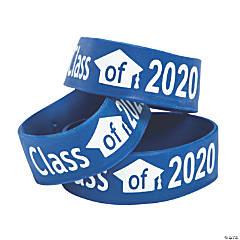 Blue Class of 2020 Big Band Bracelets