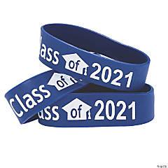 Blue Class of 2021 Big Band Bracelets