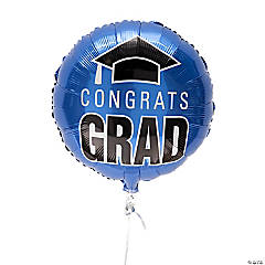 Blue Congrats Grad 18
