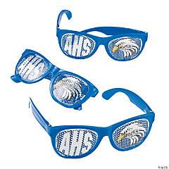 Blue Custom Photo Pinhole Glasses