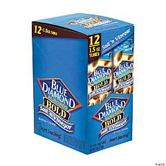 BLUE DIAMOND Almonds Bold Salt 'n Vinegar, 1.5 oz, 12 Count