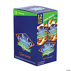 BLUE DIAMOND Almonds Whole Natural, 1.5 oz, 12 Count