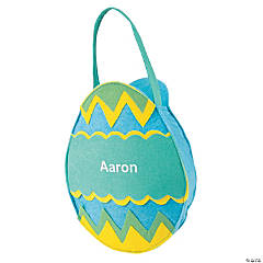 Blue Easter Egg Bag