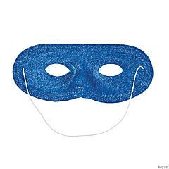 Blue Glitter Masks