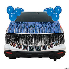 Blue Graduation Car Parade Decorating Kit