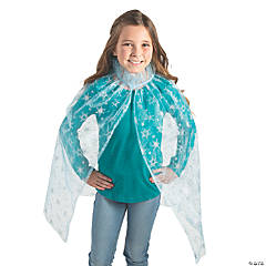 Blue Ice Princess Cape