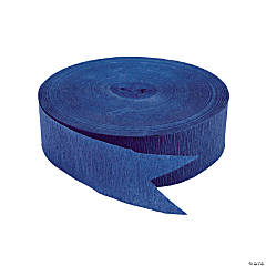 Blue Jumbo Paper Streamers