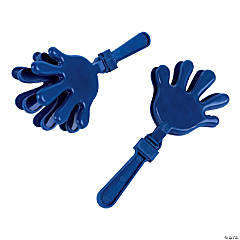 Blue Plastic Hand Clappers