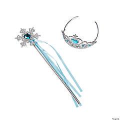 Blue Princess Tiaras & Wands
