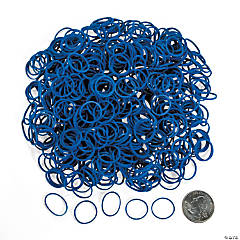 Blue Rubber Fun Loops Refill