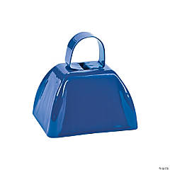 Blue School Cowbells