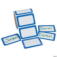 Blue Self-Adhesive Name Tags/Labels
