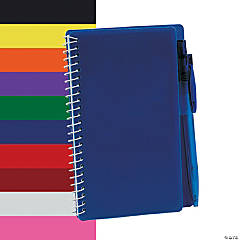 Blue Spiral Notebook & Pen Sets