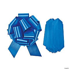 Blue Wedding Pull Bows