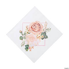 Blush Floral Luncheon Napkins