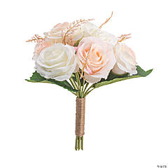 Blush Rose Faux Floral Bouquet