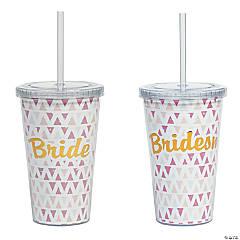 Boho Bridal Party Tumbler Gift Set
