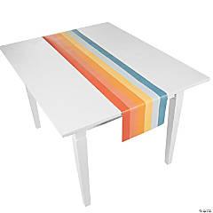 Boho Rainbow Paper Table Runner