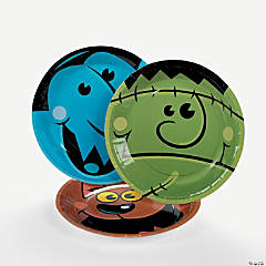 """Boo Bunch"" Halloween Paper Dessert Plates - 8 Ct."