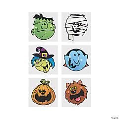 Boo Bunch Halloween Tattoos
