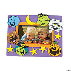 boo bunch picture frame magnet craft kit