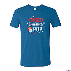 Boom Sparkle Pop Youth's T-Shirt - Large