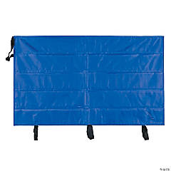 "Border Pocket Chart Storage Bag, Clear, 41"" x 24.5"", Set of 2"