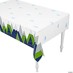 Born to Move Mountains Plastic Tablecloth