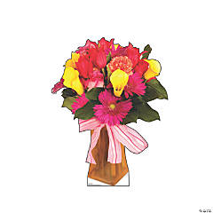 Bouquet of Flowers Stand-Up