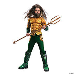 Boy's Deluxe Aquaman Costume - Large