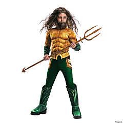 Boy's Deluxe Aquaman Costume - Medium