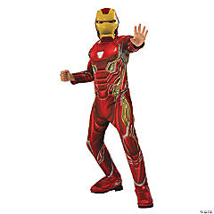 Boy's Deluxe Avengers: Infinity War™ Iron Man Costume - Large