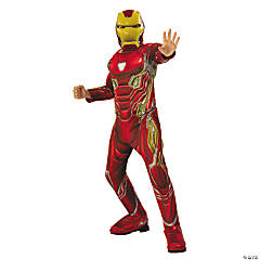 Boy's Deluxe Avengers: Infinity War™ Iron Man Costume - Medium